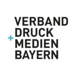 Logo Verband Druck Medien Bayern, Partnerschaft Verband Druck Medien Österreich