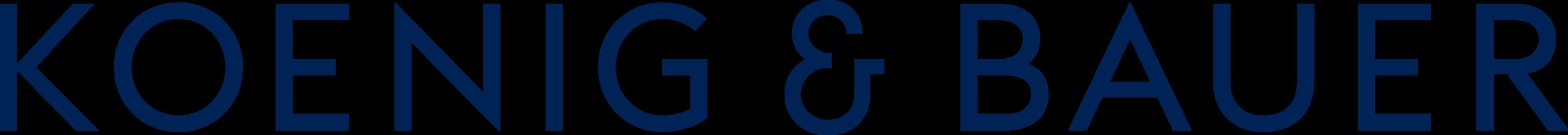 Logo Koenig & Bauer, Partnerschaft Verband Druck Medien Österreich