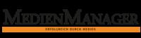 Logo Medienmanager, Medienpartner Verband Druck Medien Österreich
