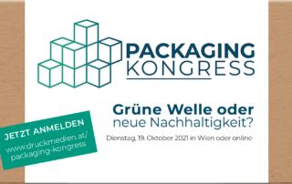 Jetzt anmelden: Packaging Kongress im Rahmen des Druck- und Medienkongress 2021, Beitragsbild