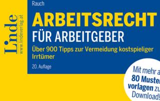 Arbeitsrecht für Arbeitgeber:innen Beitragsbild c Linde Verlag