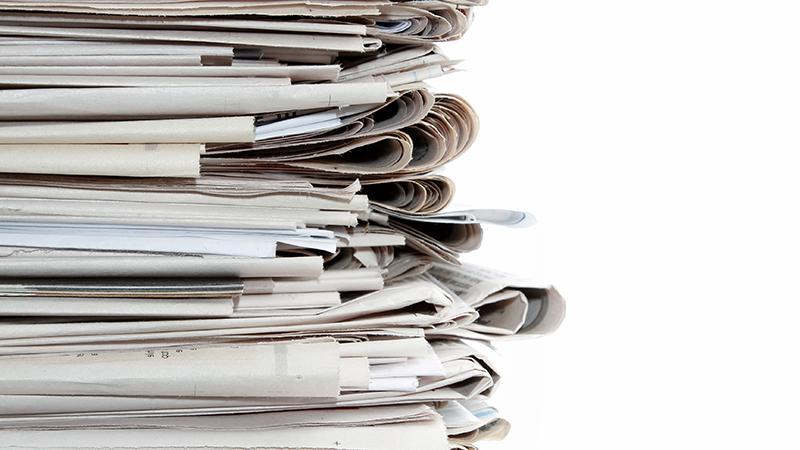 Zeitungsdruck materialkunde Verbandsakademie c shutterstock